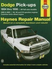 Haynes Automotive Repair Manual: Haynes Dodge Pick-Ups : All Full-Size Models 2W