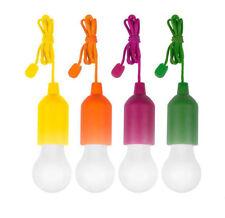 4 LAMPADINE CLICK SENZA FILI A CORDA LUCE BIANCA A LED LUX CAMPEGGIO HANDY COLOR