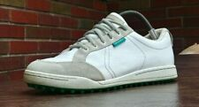 MENS ASHWORTH CARDIFF SPIKLESS GOLF SHOES SZ 8.5 42 USED g54168 CLEATS