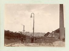 Allemagne, Bassin Houiller de la Ruhr à identifier  Vintage silver print T