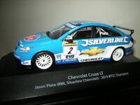 1:43 Atlas Edition Chevrolet Cruze LT RML Silverline 2010 BTCC Champion #2 VP