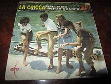 LA CRICCA CIACCI BALLIAMO SENZA SCARPE OKAY 1965 Italy 45 BEAT Rare