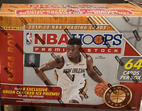 🔥  2019-20 Panini Hoops NBA Basketball Premium Stock Mega Box - Ja, Zion, Herro