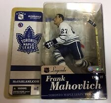 FRANK MAHOVLICH Toronto Maple Leafs White Jersey VARIANT Mcfarlane Legends Sr. 1
