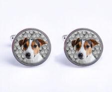 Jack Russell Dog Mens Cufflinks Birthday Wedding Gift With Cufflink Box C740
