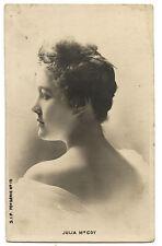 JULIA Mc COY.ANNéES 1900.BELLE éPOQUE.