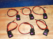 6x FITS NISSAN 300ZX 1990-94TT 1990-2NA FUEL INJECTOR CONNECTORS wiring harness