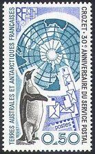 FSAT/TAAF 1991 Penguin/Letters/Post/Birds/Nature/Maps/Post/Polar 1v (n22503)