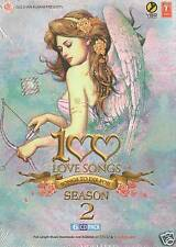 100 LOVE SONGS SEASON 2 - 6 CD BOLLYWOOD COMPILATION SET - FREE POST