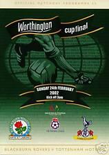 2002 WORTHINGTON LEAGUE CUP FINAL  SPURS TOTTENHAM v BLACKBURN