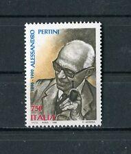 Italia 1996 centenario nascita Presidente della Repubblica Pertini MNH