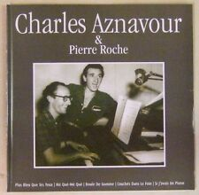 CD - CHARLES AZNAVOUR & PIERRE ROCHE 16 Titres