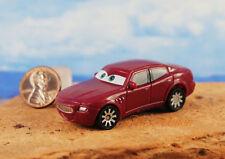 DISNEY PIXAR CARS Toy Carlo Maserati Cake Topper Model Figure Decoration K1093_V