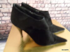 French connection ankle boots black suede 5 heels