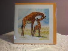 Quilling Cards LLC - 3D Giraffe Blossom Note Card