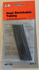 Heat Shrink Tubing Wire Cable Wrap Electric - 4 Available @$5.20 Each