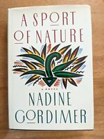A Sport of Nature Nadine GORDIMER Signed 1st Edition First Printing 1987 HCDJ