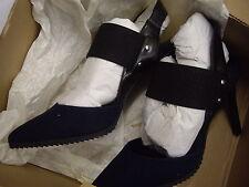 Siguiente Marino Cleated Suela Zapatos Tacón Alto puntos de ESLINGA vuelta Size UK 6 EUR 39