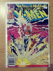 UNCANNY X-MEN 227 VF- MARVEL PA8-19