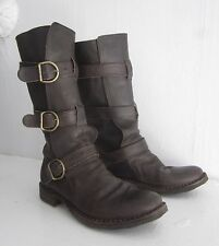$585 FIORENTINI+BAKER Brown 7040 ETERNITY Boots RARE SoldOut CELEB 36.5 FITS 7.5