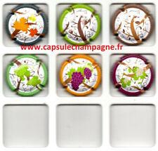 Capsules de champagne Générique Série Végétation nouveauté novembre 2020