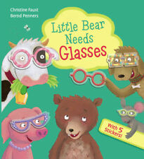 Little Bear Needs Glasses by Bernd Penners (2018, Board Book) NEW