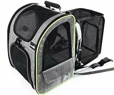 Pecute Cat Carrier Dog Backpack Expandable, Portable Breathable Rucksack with