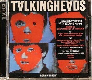 TALKING HEADS - Remain In Light - CD (CD+DVD)
