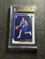 LUKA DONCIC 2018-19 NBA HOOPS #268 ROOKIE CARD BGS 9.5 GEM MINT DALLAS MAVERICKS