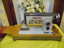 SUPERIOR DE-LUXE  ELECTRIC SEWING MACHINE MADE IN IRELAND
