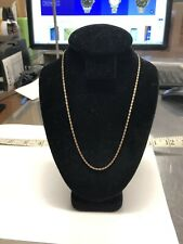 "14k Tri-Gold Gucci Chain Link 16"" 1.6 Grams"