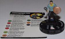 CHRISTOPHER PIKE 040 Star Trek Away Team Wizkids HeroClix SUPER RARE