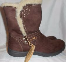 Women's Earth Spirit Dark Brown Boots Size 10 NEW