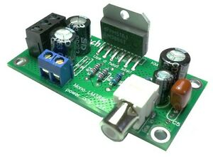 Quality LM3886 based mono amplifier  Chipamp Gainclone assembled UK seller.