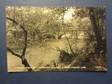 Old Vintage Bennett Spring State Park MO. RPPC Real Photo POSTCARD Spring Branch