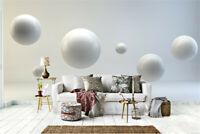 3D Floating balls Self-adhesive Living Room Murals TV Background Wallpaper Decor