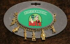 Vintage Popeye Charm Links Bracelet King Feature Syndicate Peter Brams 1990