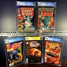 First Issue Lot GHOST RIDER 1 1967 1973 1990 2017 2021 1st Appearance CGC 9.8 ss