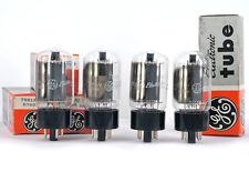 4x  GE 7581A NOS MATCHED Tube Röhre Lampe TSF Valve Valvola 진공관 真空管