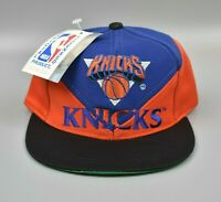 New York Knicks NBA Vintage 90's Twins Enterprise KIDS Snapback Cap Hat