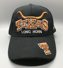 PreOwned Black Texas Long Horns Embroidered Adjustable Cap- REVISED OFFER PRICE!