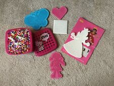 Hama Beads And 5 Pegboards- parts of Hama kits and beads in tub