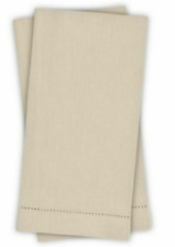 Lamont Home - Guest Bath Towels - Natural - Linen Blend - Set of 2 - New in Box