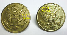 2 x boutons de capote - USA 39/45 / WW2 - diamètre 27mm environ