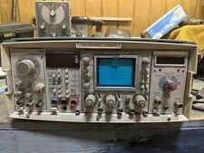 Tektronix Tm 515 Mainframe With Sc 502 15mhz Oscilloscope Amp Fg 501 Function Gen