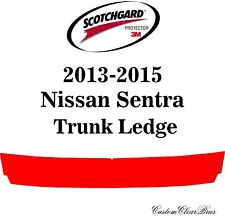 3M Scotchgard Paint Protection Film Pre-Cut Fits 2013 2014 2015 Nissan Sentra
