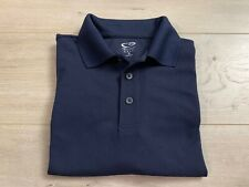 Champion Golf Mens Polo Short Sleeve Shirt Blue Duo Dry Golfing Apparel Size S