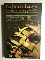 THE SANDMAN COMPANION by Hy Bender (1999) DC Vertigo Comics TPB 1st FINE-
