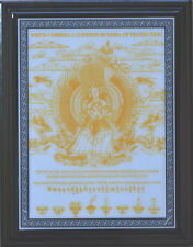 Feng Shui White Umbrella Powerful Goddess Saves Us All From Harm Plaque