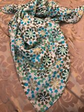 Lulla Collection by Bindya Scarf Women's Colorful Blue/Green Pattern OS